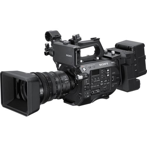 Sony PXW-FS7M2K 4K XDCAM Super 35 Camcorder Kit with 18-110mm Zoom Lens