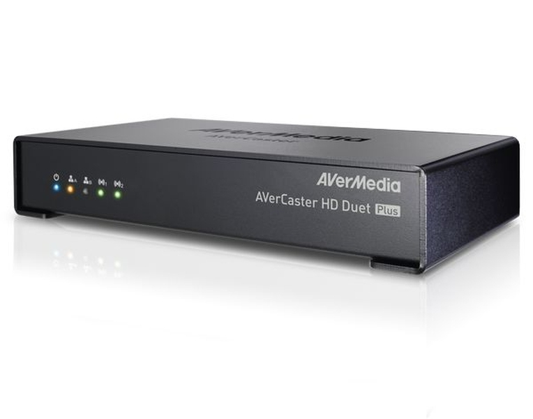 Broadcast and Record Live Content Simultaneously AVerCaster HD Duet PlusF239+