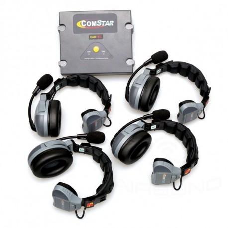 ระบบไวเลสรับและส่ง 2 ความถี่ COMSTAR XT-4 4-User Full Duplex Intercom Wireless System