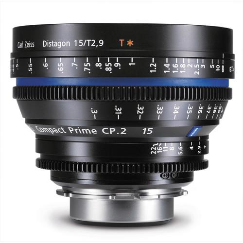 เลนส์ Zeiss Compact Prime ขนาด CP.2 15mm/T2.9 EF Mount