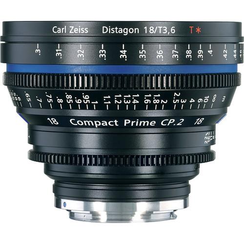 เลนส์ Zeiss ขนาด 18mm/T3.6 CP.2 Compact Prime Cine Lens with EF Mount