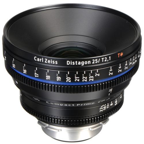 เลนส์ Zeiss CP.2 ขนาด 25mm T2.1 Compact Prime Lens (PL Mount)