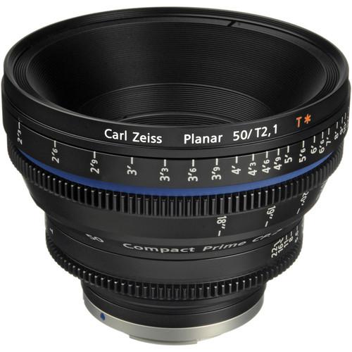 เลนส์ Zeiss Compact Prime ขนาด CP.2 50mm/T2.1 Cine Lens (EF Mount)