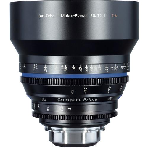 เลนส์ Zeiss Compact Prime ขนาด CP.2 50/T2.1 Macro with MFT Mount
