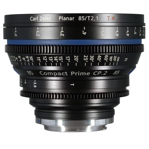 เลนส์ Zeiss Compact Prime ขนาด CP.2 85mm/T2.1 Cine Lens (EF Mount)