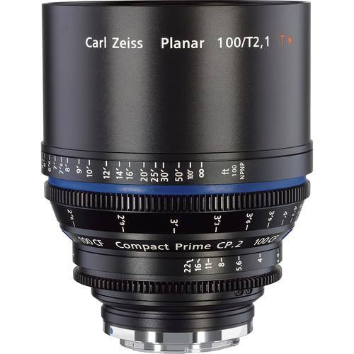 เลนส์ Zeiss Compact Prime ขนาด CP.2 100mm/T2.1 CF Cine Lens (EF Mount)