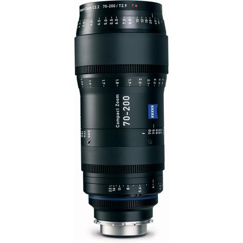 เลนส์ Zeiss ขนาด 70-200mm T2.9 Compact Zoom CZ.2 Lens (PL Mount)
