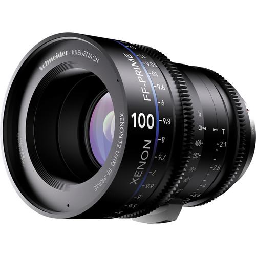 เลนส์ Schneider Xenon FF ขนาด 100mm T2.1 Lens with Canon EF Mount (Feet)