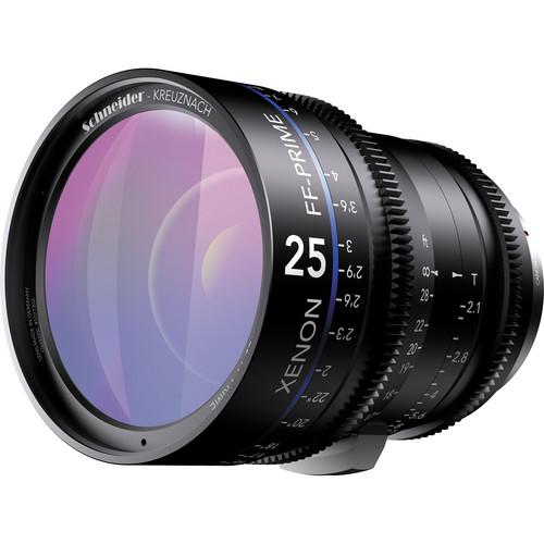 เลนส์ Schneider Xenon FF ขนาด  25mm T2.1 Lens (EF Mount, Feet)