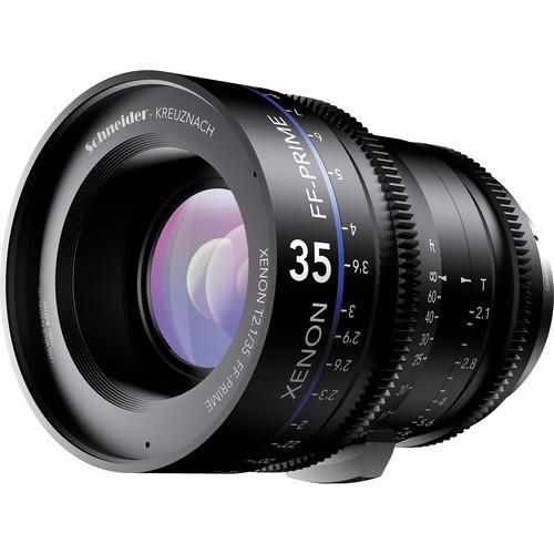 เลนส์ Schneider Xenon FF ขนาด  35mm T2.1 Lens with Canon EF Mount (Feet)