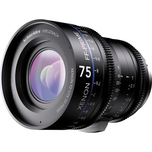 เลนส์ Schneider Xenon FF ขนาด  75mm T2.1 Lens with Canon EF Mount (Feet)