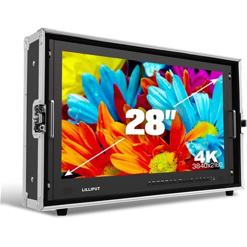 จอมอนิเตอร์ Lilliput BM280-4K Carry-On 4K Monitor (V-Mount)