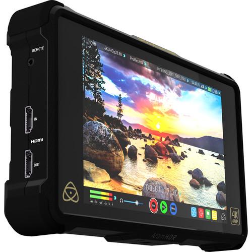 Atomos Shogun Inferno 7 inch 4K HDMI/Quad 3G-SDI/12G-SDI Recording Monitor with Accessory Kit
