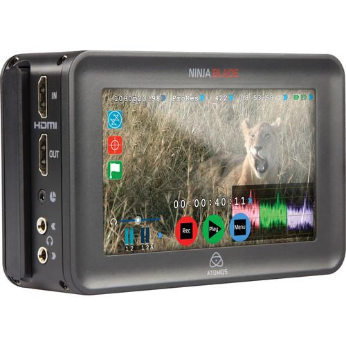 Atomos Ninja Blade 5quot; HDMI On-Camera Monitor  Recorder (Full Version)