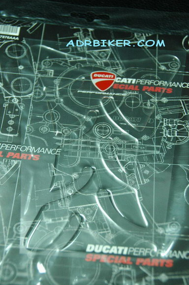 แผ่นกันรอยตัวถัง Ducati Performance สำหรับ848 1098 1198