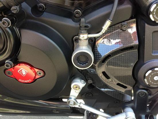 Ducabike Timing Inspection Cover (ฝาไทม์มิ่ง)   สำหรับ Diavel