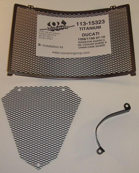 การ์ดหม้อน้ำ COX RACING สำหรับ 848/1098/1198