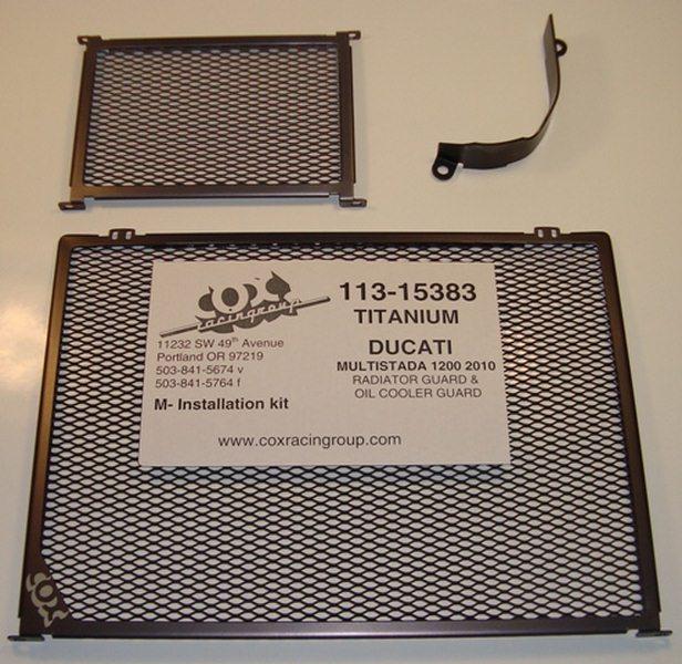 การ์ดหม้อน้ำ COX RACING สำหรับ Multistrada 1200 \'10-14