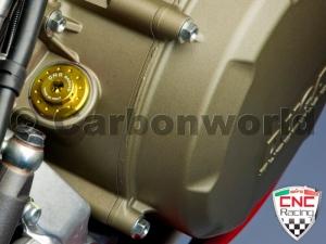จุกอุดน้ำมัน (Oil cap gas) - CNC Racing สำหรับ STF (ยกเว้น panigale)