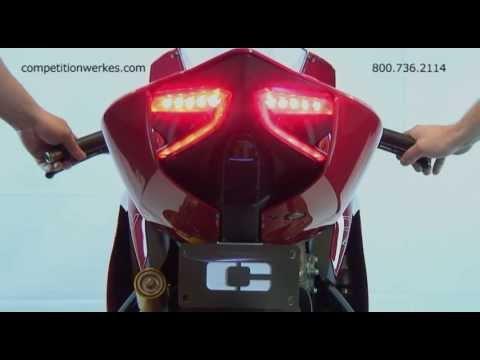 Competition Werkes-ไฟท้ายแต่ง (Integrated Tail Light) สำหรับ 899/1199 Panigale