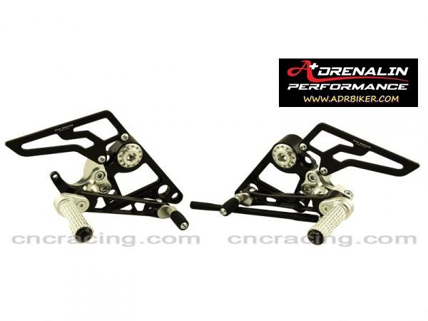 ชุดเกียร์ + พักเท้าหลัง สำหรับ Monster 795, 796 CNC Racing จาก  Italy