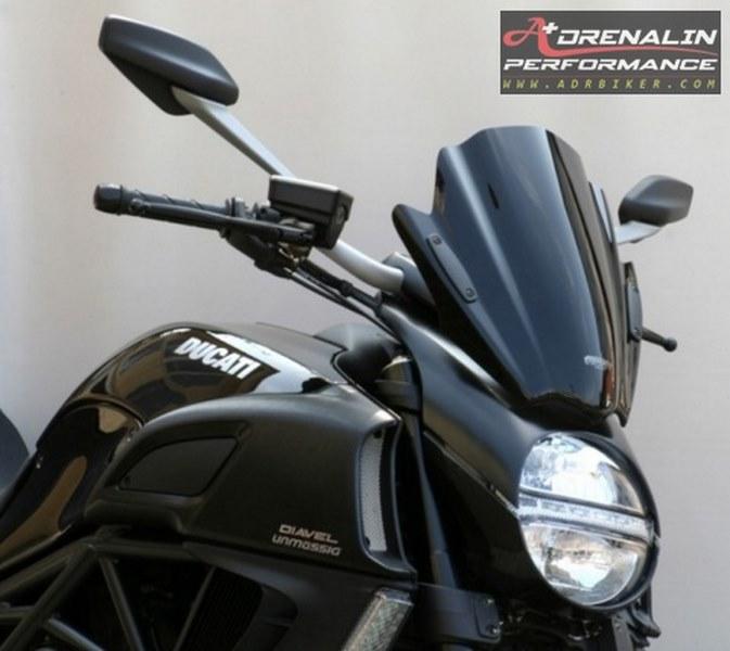 ชิวหน้า MRA ทรง Sport (DS)  สำหรับ Ducati  Diavel ปี 2011 ขึ้นไป