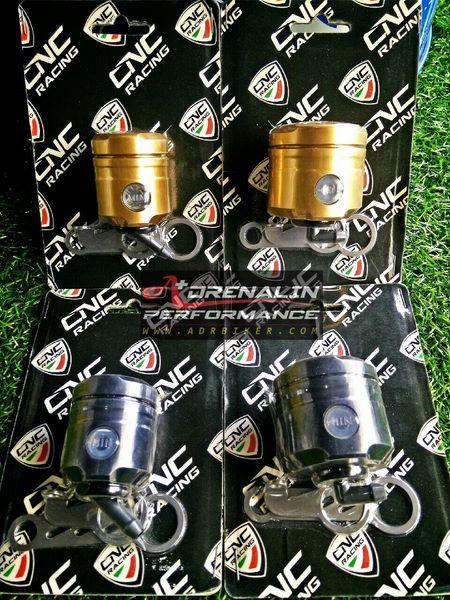 กระปุกน้ำมัน CNC Racing (Set) ซ้าย-ขวา (ทอง/ดำ)  สำหรับ SF