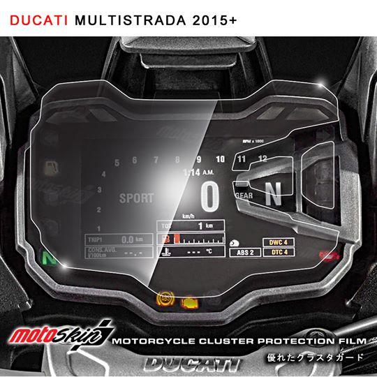 ฟิล์มกันรอยหน้าปัด MotoSkin สำหรับ MULTISTRADA 2015