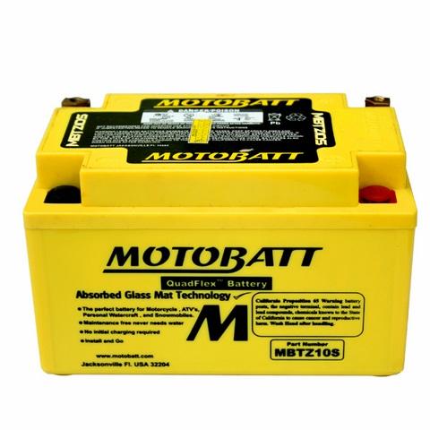 แบตเตอรี่ Motobatt  รุ่น  MBTZ10S สำหรับ S1000R ทุกปี