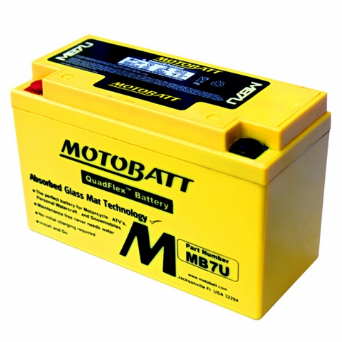 แบตเตอรี่ Motobatt รุ่น MB7U สำหรับ 899, 1199 Panigale