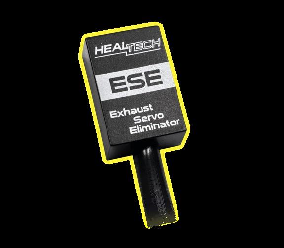 ตัวหลอกเซอร์โวท่อไอเสีย Healtech สำหรับ Hyper motard 821, 939