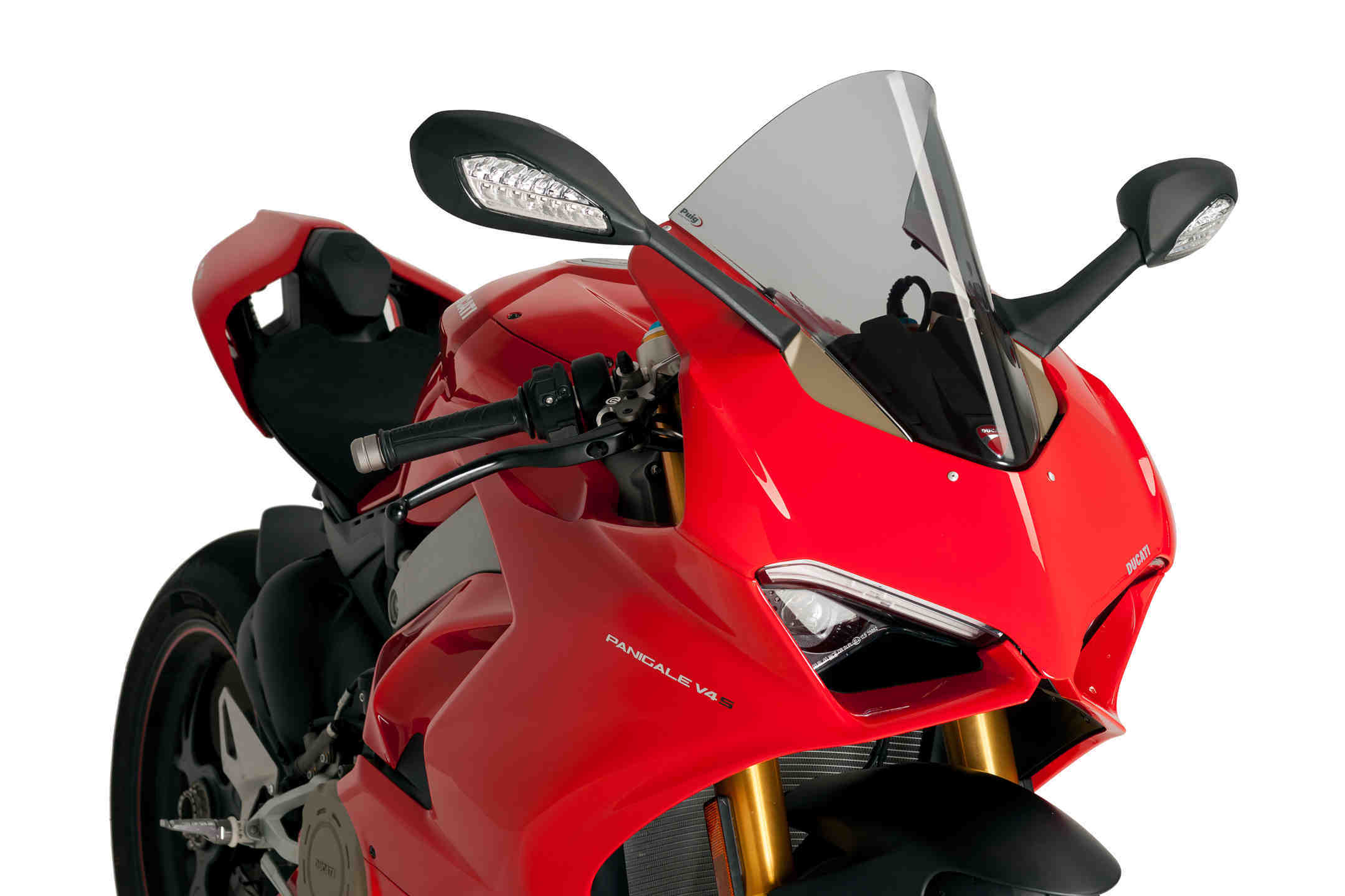 ชิวหน้า Puig  สำหรับ Panigale V4/S/R  รุ่น Racing