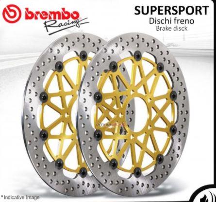 จานเบรคหน้า brembo HP supersport สำหรับ SF  v4
