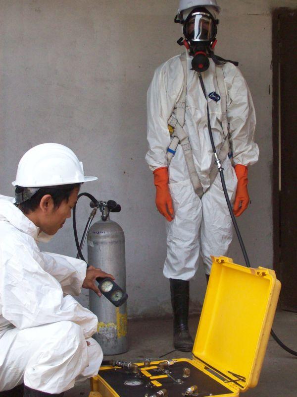 รับจ้างทำงานในที่อับอากาศ สำรวจในพื้นที่อับอากาศ โดย CCTV / VDO / Photo