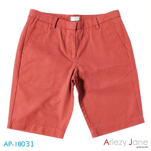 กางเกงขาสั้น 2ส่วน แดง AP-18031