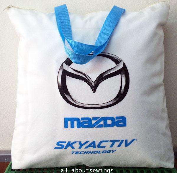 กระเป๋าสปันบอนด์ - Mazda Skyactiv