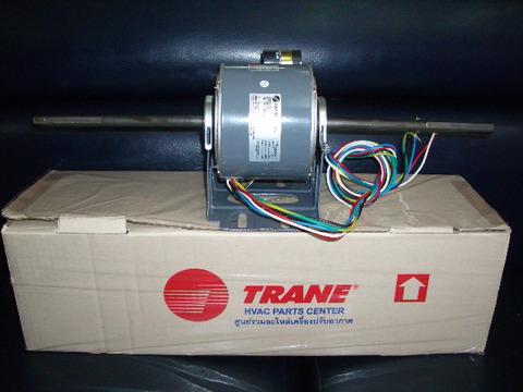 FCU motor มอเตอร์พัดลม คอยล์เย็น อะไหล่ สำหรับ เครื่องปรับอากาศ แอร์  เทรน  TRANE