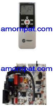 Control Set / Thermostat แผงรับสัญญาณ อะไหล่ สำหรับ เครื่องปรับอากาศ แอร์ เทรน  Trane Premio