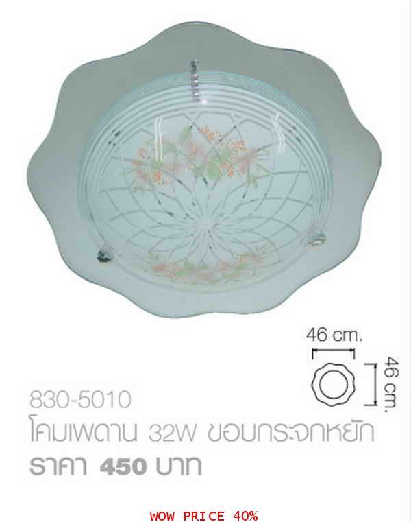 เพดาน32Wขอบกระจก830-5010