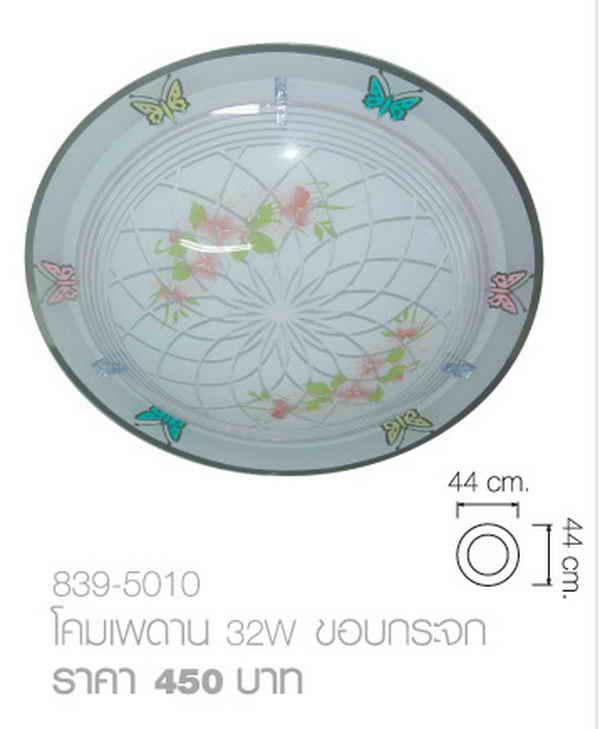 เพดาน32Wขอบกระจก839-5010