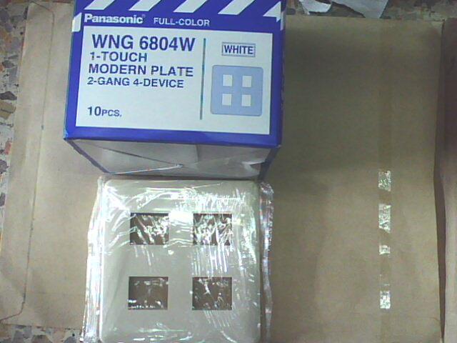WNG6804W ฝาพลาสติก 4 ช่อง