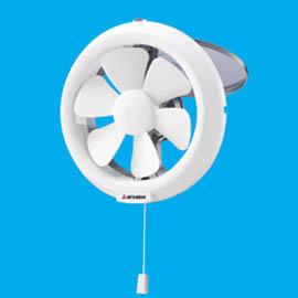 พัดลมระบายอากาศแบบติดกระจกดูดอากาศออกV-20SL3T ใบพัด8นิ้ว