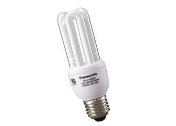 หลอดประหยัดไฟพานาโซนิค11วัตต์ แสงขาว ขั้วE27 Panasonic EFU11E672V