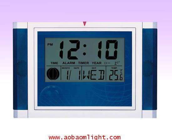 CK888 นาฬิกาปลุก ปฏิทิน100ปี แสดงอุณหภูมิได้