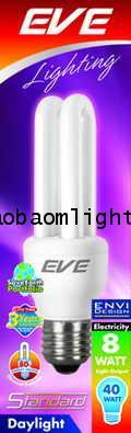 หลอดประหยัดไฟ8วัตต์อีฟ แสงขาว ขั้วE27_EVE STANDARD 8W DAYLIGHT E27