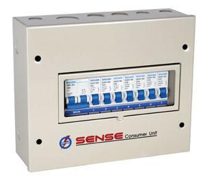 ตู้ไฟ คอมซูมเมอร์ยูนิต เซนส์ รุ่น Q7 สำหรับไฟฟ้า 1เฟส 2 สาย