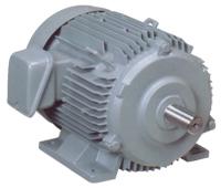 มอเตอร์ไฟฟ้า HITACHI 3 เฟส  5 HP 2,4 Pole รุ่น 5 TFO-K