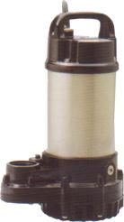 เครื่องสูบน้ำแบบจุ่ม ใบพัดแบบ Vortex สามารถสูบกากปริมาณไม่มากในน้ำได้ Tsurumi Pump
