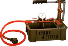 ปั๊มน้ำเทสท์ท่อ KYOWA รุ่น T-50kp/T-100K