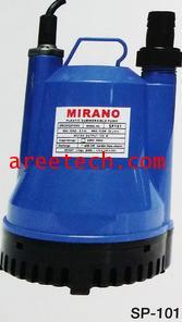 ปั้มแช่พลาสติก Water Pump MIRANO AIR COMPRESSORS รุ่น SP-101